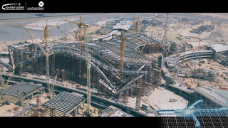 Latest video of the Midfield Terminal at Abu Dhabi International Airport