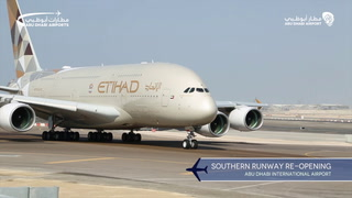 Watch the re-opening event of the Southern Runway