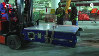 Watch early stages of world's Largest Baggage Handling System