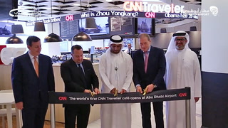 World's First CNN Traveller Café opens at Abu Dhabi International Airport