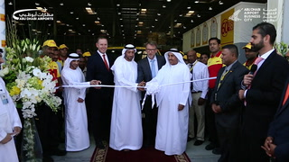 DHL Distribution Centre at Abu Dhabi Airport Business City opens for business for the first time