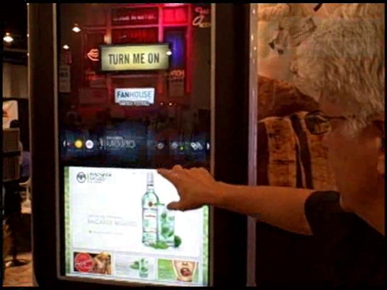 ISME 08: Interactive entertainment from Ecast   Kiosk