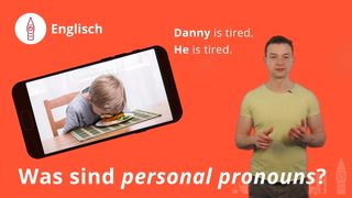 Was sind personal pronouns?