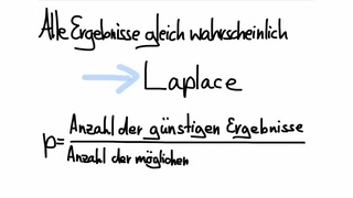 Was ist ein Laplace-Experiment?