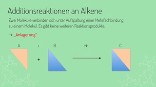 Additionsreaktionen an Alkene